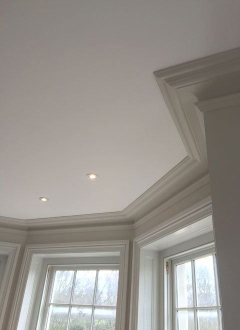 New build for Calco Construction: Cornice work